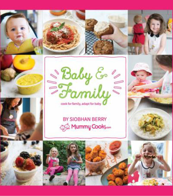 Picture of Mummy Cooks Baby & Family Recipe Book; Cook for family, adapt for baby