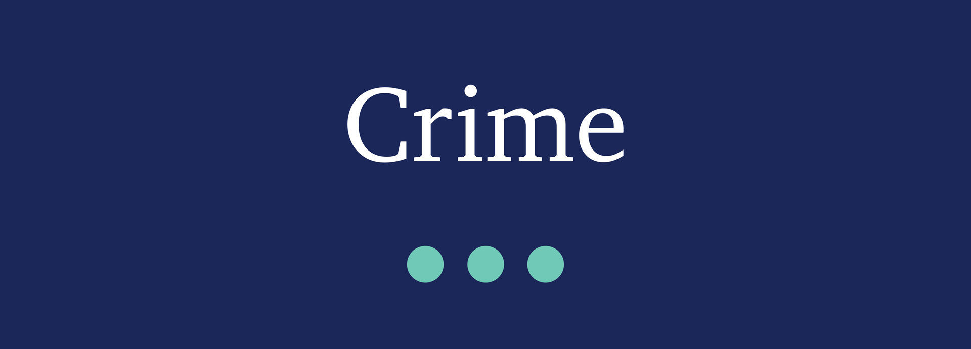 Picture for category Crime