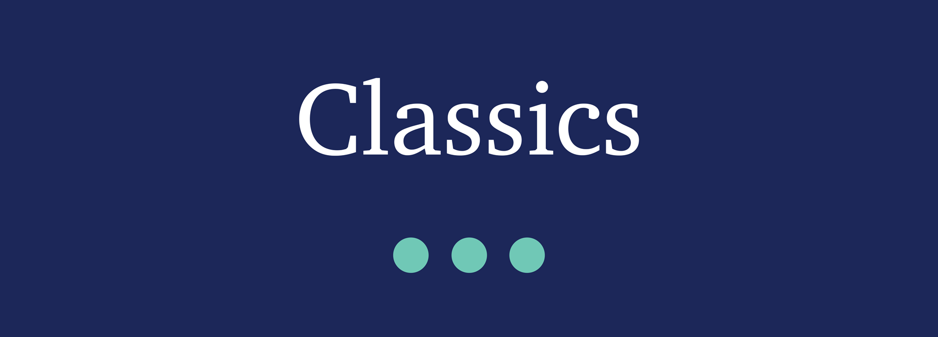 Picture for category Classics