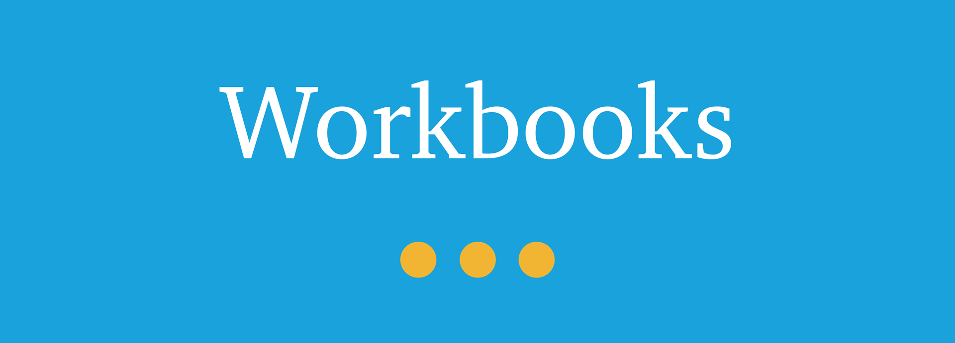 Picture for category Workbooks