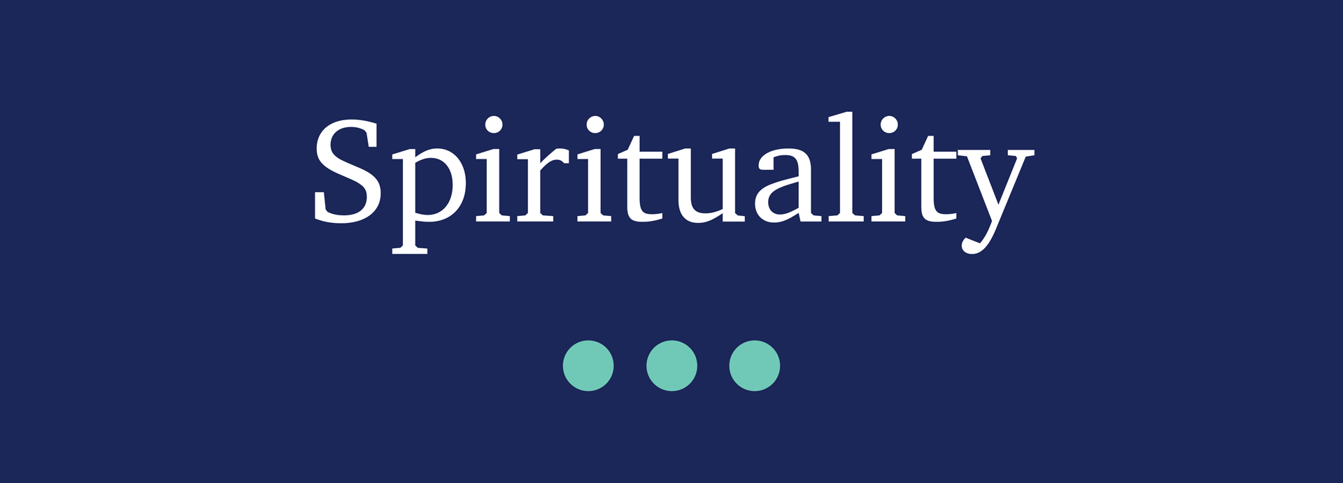 Picture for category Spirituality
